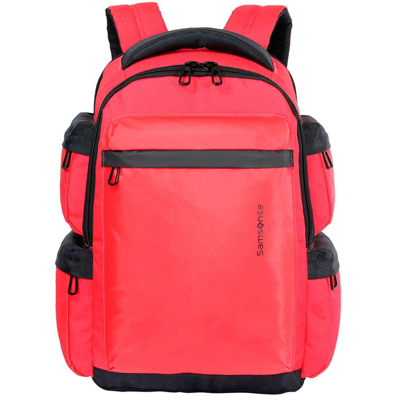 Mochila  Samsonite Rojo / negro laptop backpack 16 red ultimate data