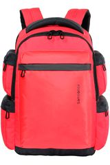 Mochila de  Samsonite Rojo / negro laptop backpack 16 red ultimate data