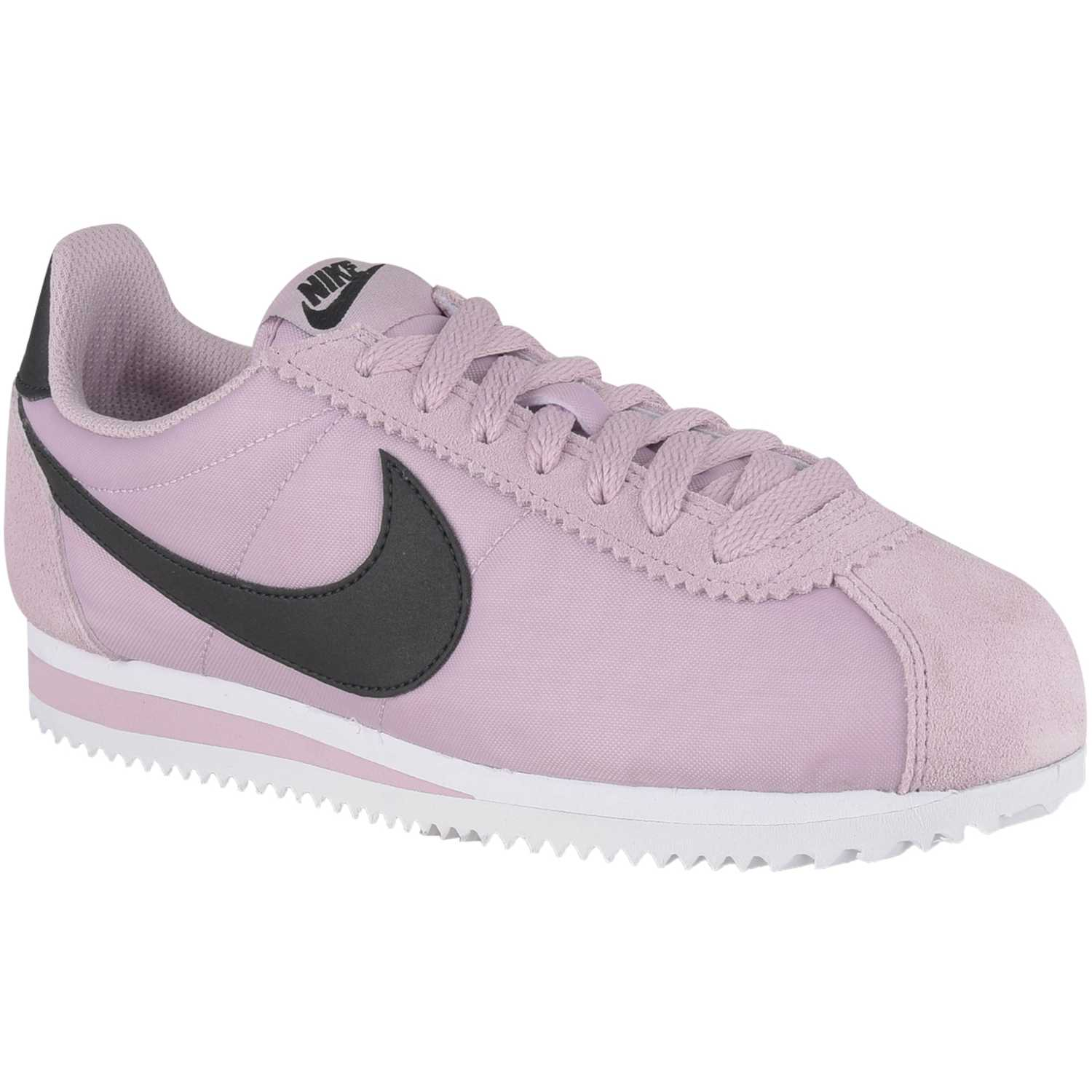 nike cortez blanco with rosado