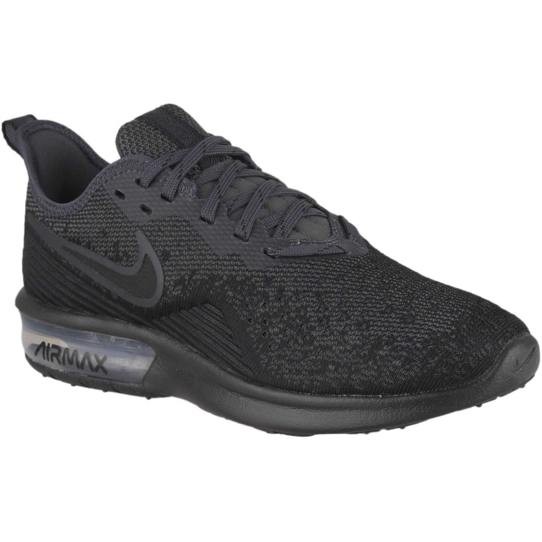 Zapatilla de Mujer Nike Negro wmns nike air max sequent 4