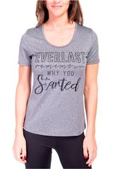 Everlast Plomo / gris de Mujer modelo t-shirt get Polos Deportivo