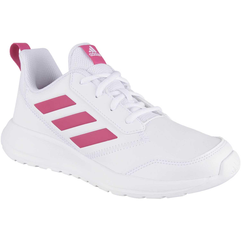 Zapatilla de Jovencita Adidas Blanco / rosado altarun k