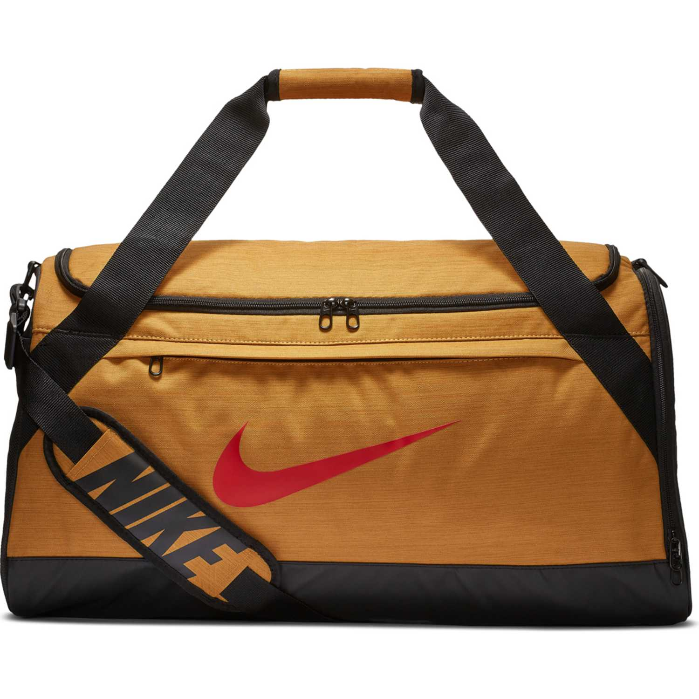 Maletin Deportivo de Hombre Nike Mostaza / Negro nk brsla m duff - na