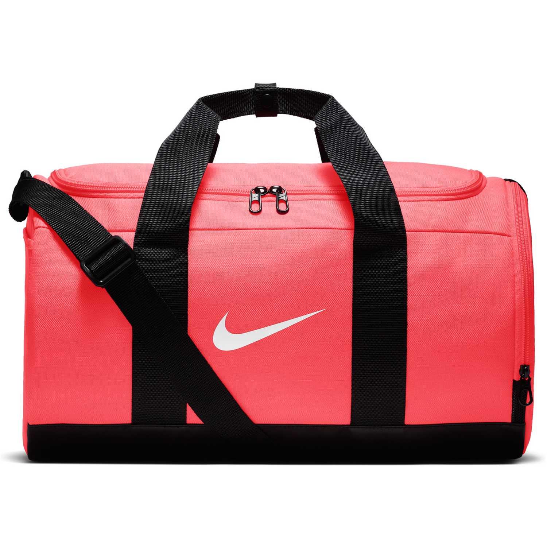 35f95d798 Maletin Deportivo de Mujer Nike Coral / negro w nk team duffle ...