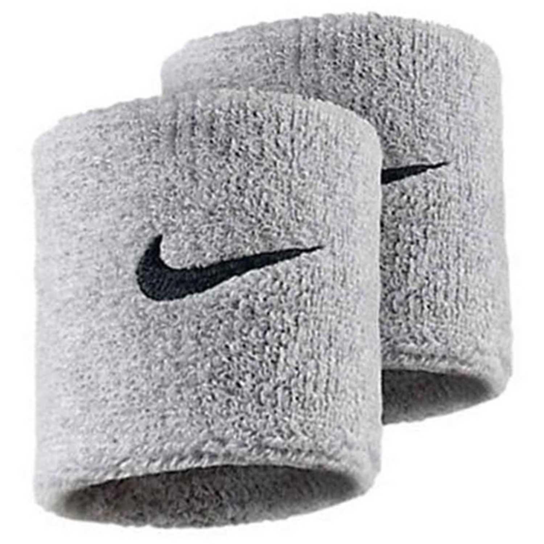 Muñequera de Hombre Nike Plomo nike swoosh wristbands