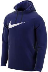 Polera de Hombre Nike Azul m nk thrma hd po ls gfx