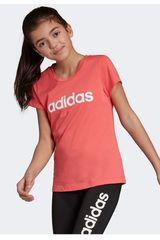 Adidas Rosado de Niña modelo yg e lin tee Deportivo Polos