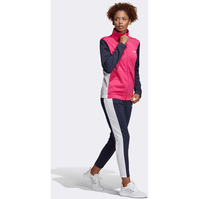 Buzo de Mujer Adidas Rosado / plomo wts plain tric