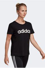 Adidas Negro de Mujer modelo w e lin slim t Deportivo Polos
