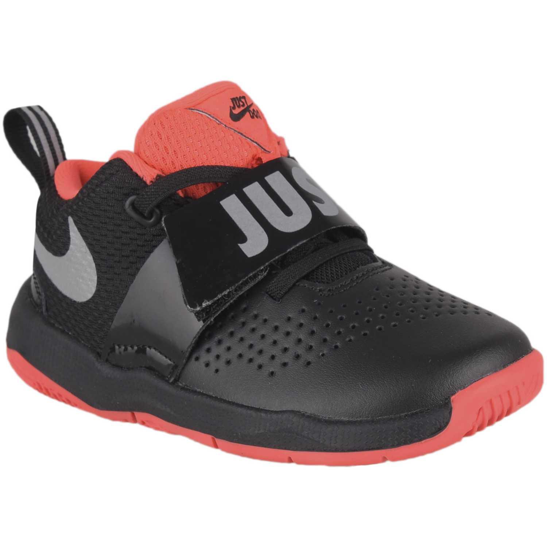 premium selection 97fd9 5c4ee Zapatilla de Niño Nike Negro / rojo team hustle d 8 jdi bt ...
