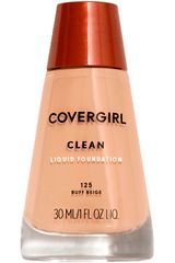 Covergirl Buff Beige de Mujer modelo base clean liquid make up Maquillaje Base líquida