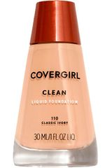 Covergirl Classic Ivory de Mujer modelo base clean liquid make up Maquillaje Base líquida