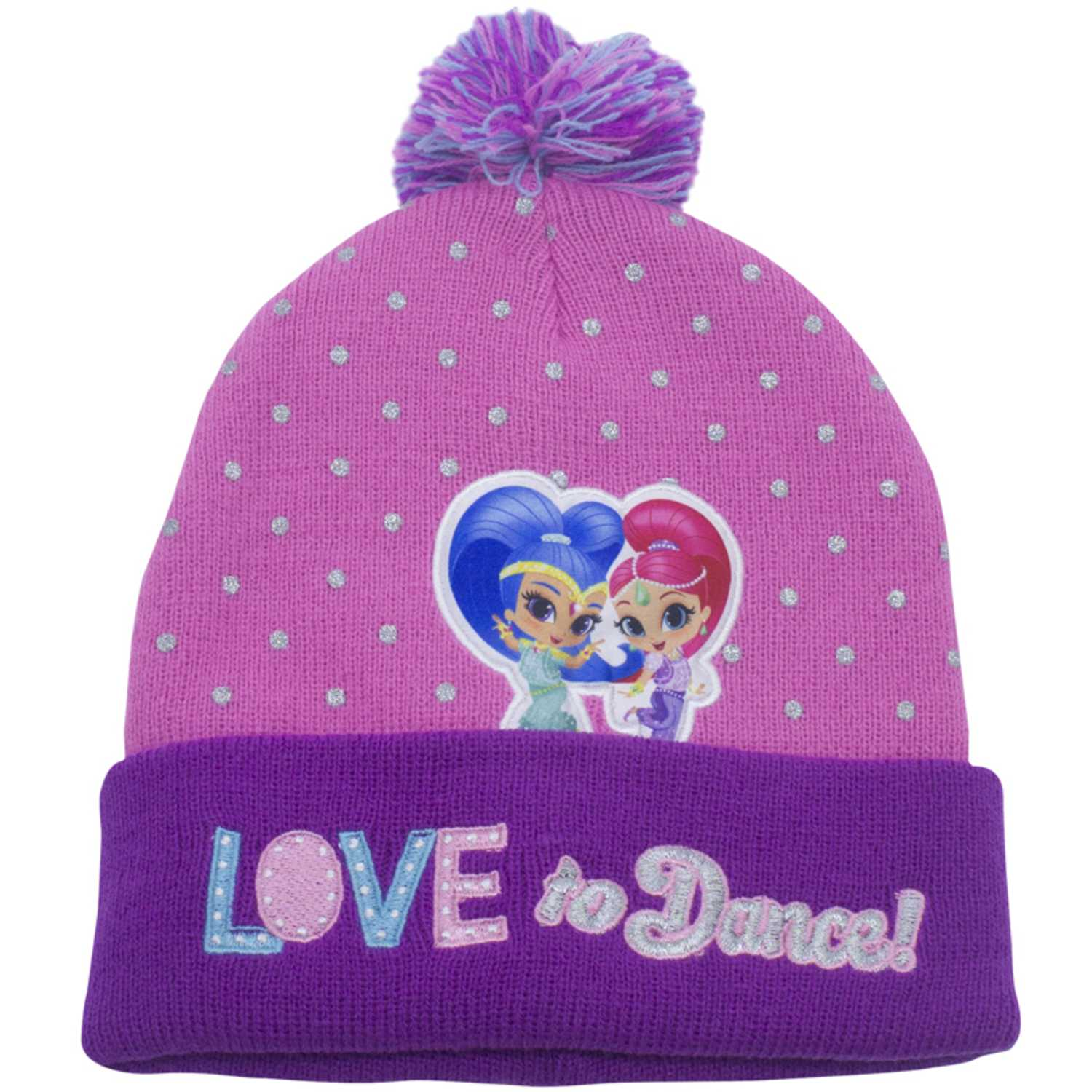 Gorro de Niña Shimmer And Shine Rosado gorro invierno shimmer and shine