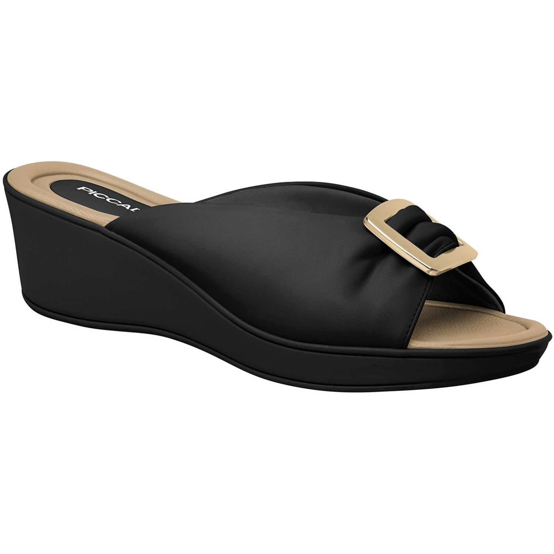 Sandalia Cuña de Mujer Piccadilly Negro sandalia  540241-9-2