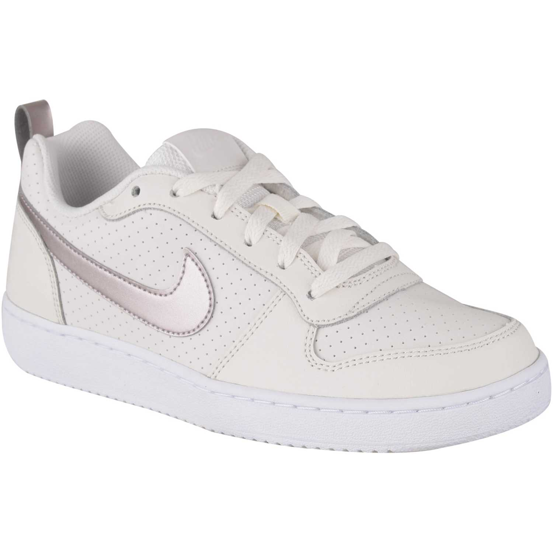 Zapatilla de Jovencita Nike Beige nike court borough low gg