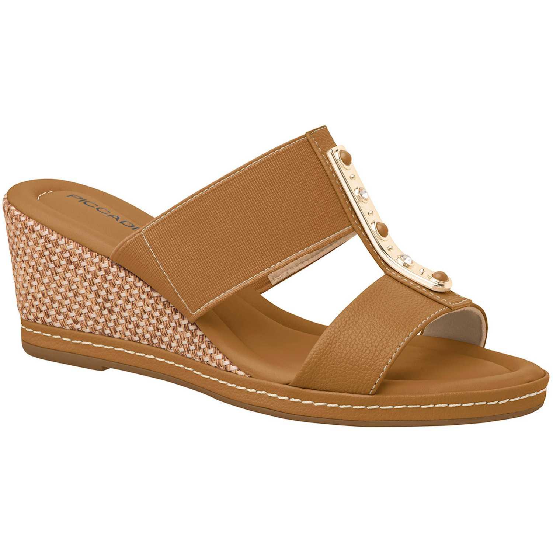 Sandalia Cuña de Mujer Piccadilly Marron sandalia  408127-5-12