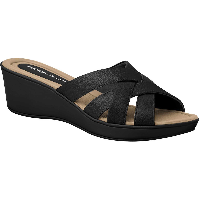 Sandalia Cuña de Mujer Piccadilly Negro sandalia 540244-9-2