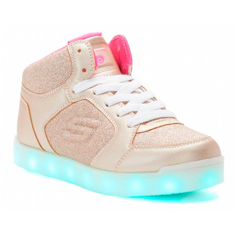 Zapatilla de Niña Skechers Dorado e-pro - glitter glow