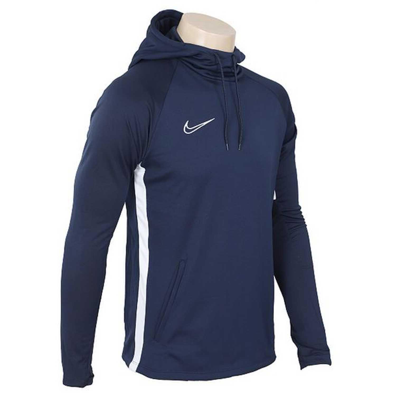 Polera de Hombre Nike Navy m nk dry acdmy19 po hoodie