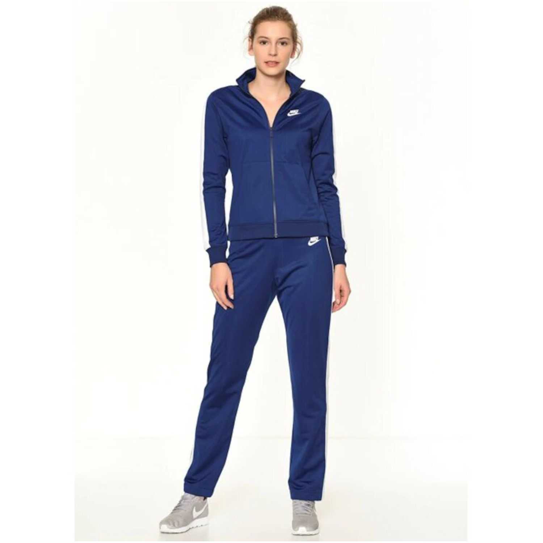 Buzo de Mujer Nike Azul w nsw trk suit pk oh