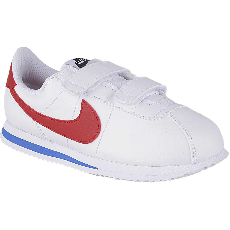 Zapatilla de Niño Nike Blanco / rojo cortez basic sl bpv