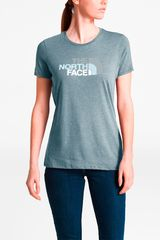 Polo de Mujer The North Face Acero w half dome tri-blend crew tee