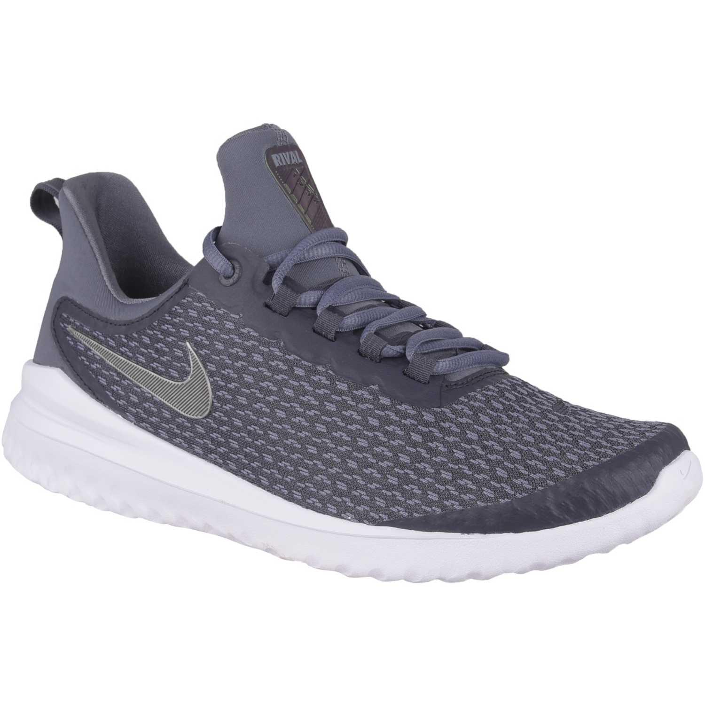 Zapatilla de Hombre Nike Acero / blanco nike renew rival