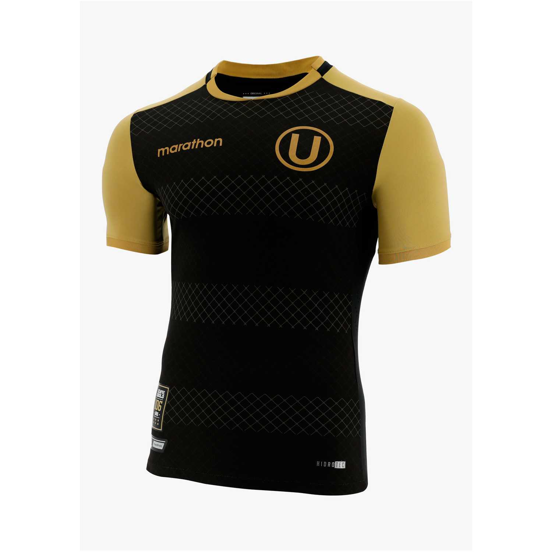 Polo de Hombre Marathon Negro camiseta universitario ídolo inmortal 2019