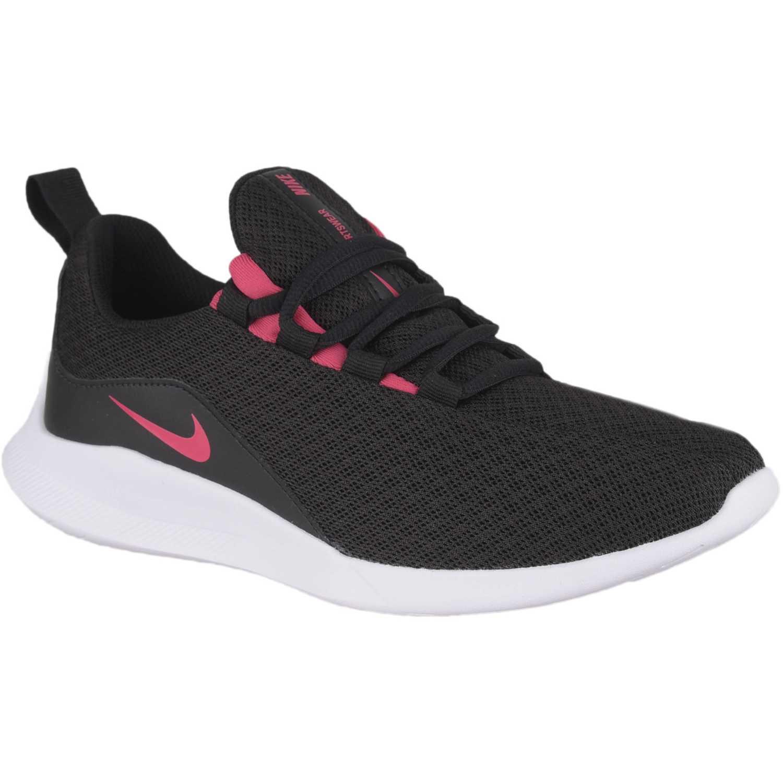 Zapatilla de Jovencita Nike Negro / fucsia nike viale gg