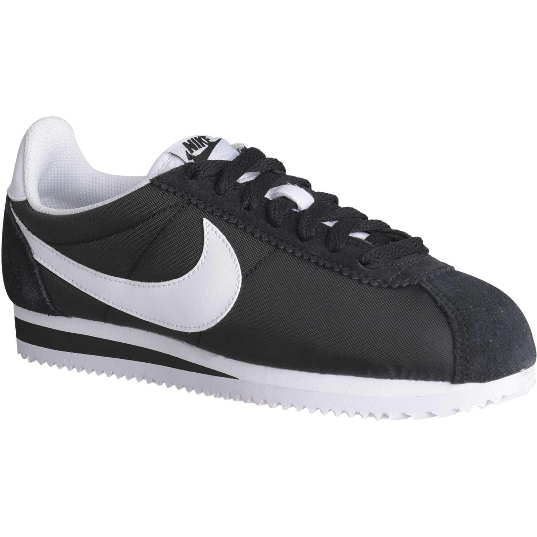 Zapatilla de Mujer Nike Negro / blanco wmns classic cortez nylon