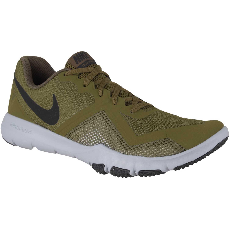 Zapatilla de Hombre Nike Verde / plomo nike flex control ii