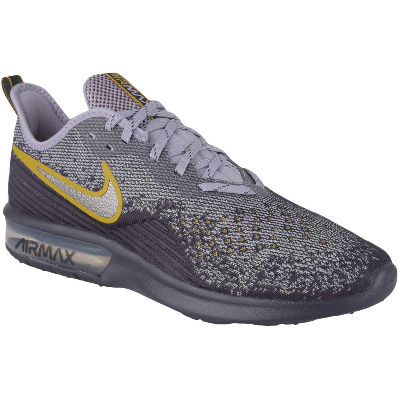 Zapatilla de Hombre Nike Plomo / gris nike air max sequent 4