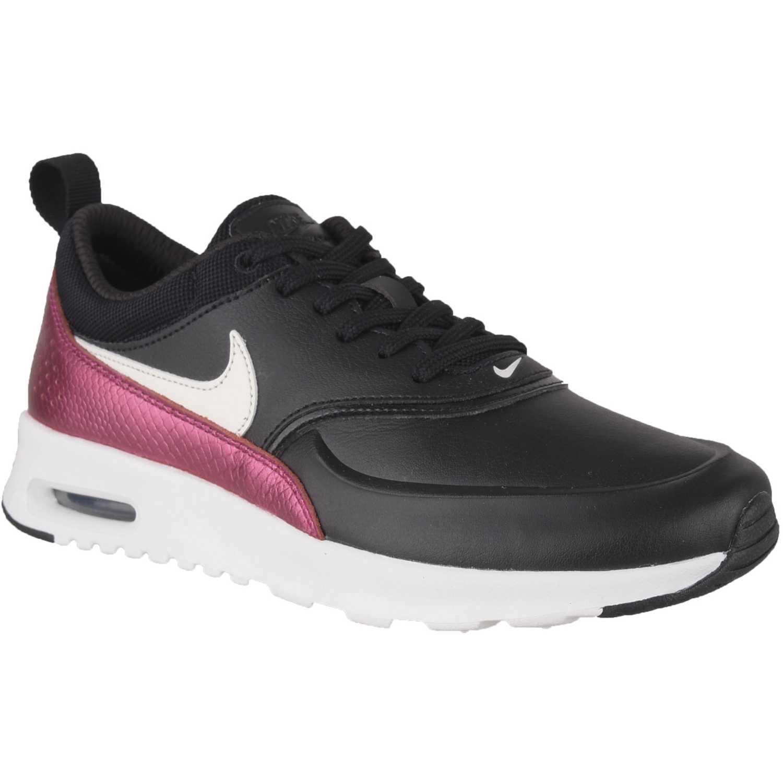 Zapatilla de Mujer Nike Negro / fucsia w nike air max thea prm