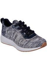 Skechers Gris / blanco de Mujer modelo bobs squad - total hit Casual Walking Zapatillas casual Deportivo Urban Zapatillas