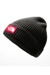 The North Face Plomo de Hombre modelo tnf logo box cuffed beanie Beanie Chullos