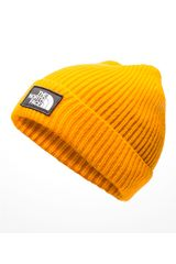 The North Face Amarillo de Hombre modelo tnf logo box cuffed beanie Beanie Chullos