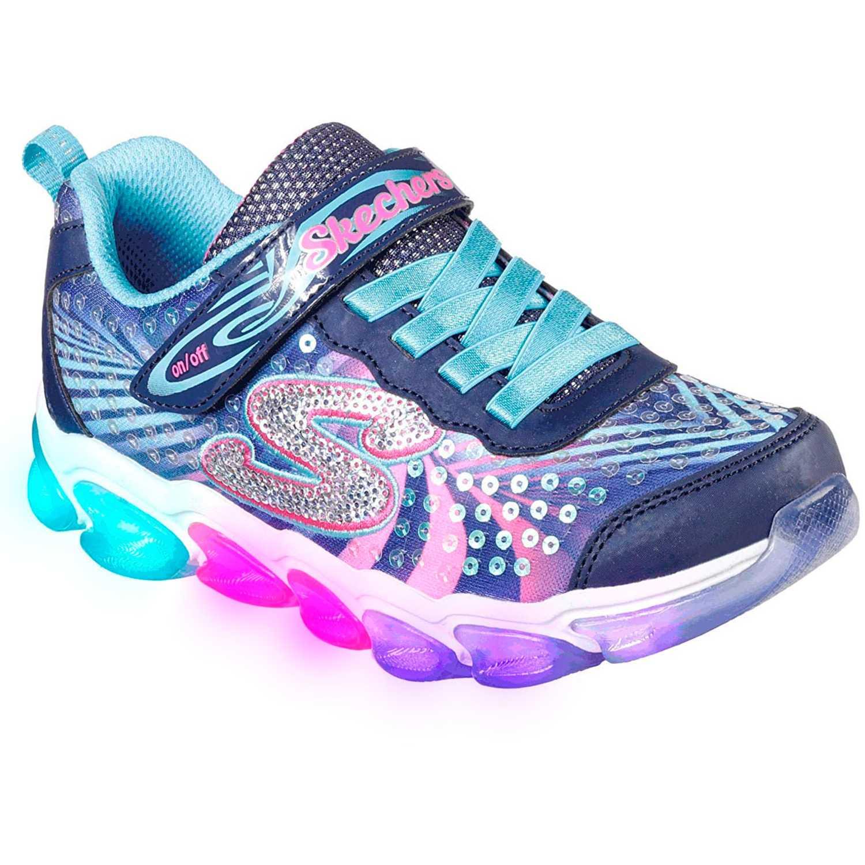 Zapatilla de Niña Skechers Negro / rosado jelly beams