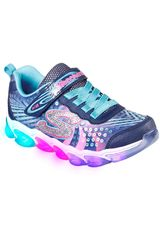 Skechers Negro / rosado de Niña modelo jelly beams Deportivo Urban Walking Zapatillas Casual