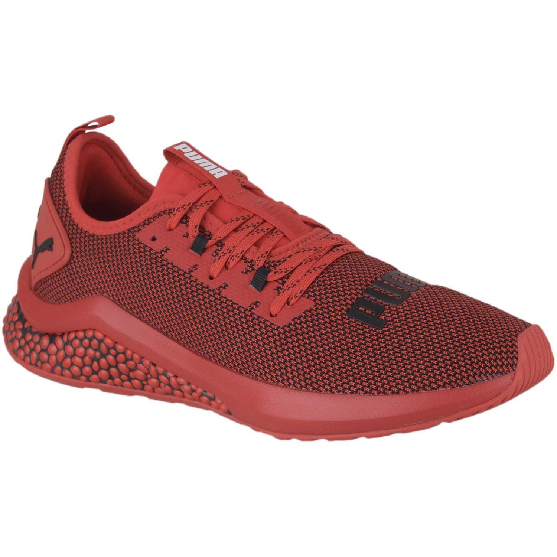 Zapatilla de Hombre Puma Rojo / negro hybrid nx