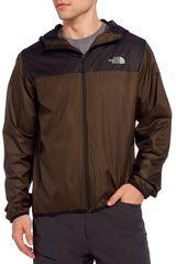 The North Face Olivo / negro de Hombre modelo m cyclone 2.0 hoodie Deportivo Casacas