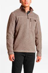 The North Face Marron de Hombre modelo m gordon lyons 1/4 zip Deportivo Casacas