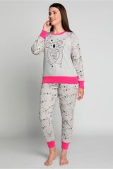 Pijama de Mujer Kayser Gris 60.1181-gri