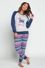 Pijama de Mujer Kayser Azul 60.1182-azu