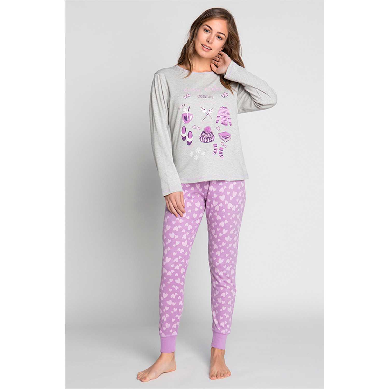 Pijama de Mujer Kayser Violeta 60.1183-vio