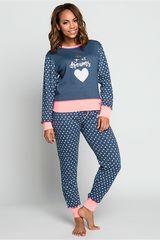 Pijama de Mujer Kayser Azul 60.1185-azu