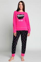 Pijama de Mujer Kayser Fucsia 60.1192