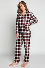 Pijama de Mujer Kayser Rojo 60.1212