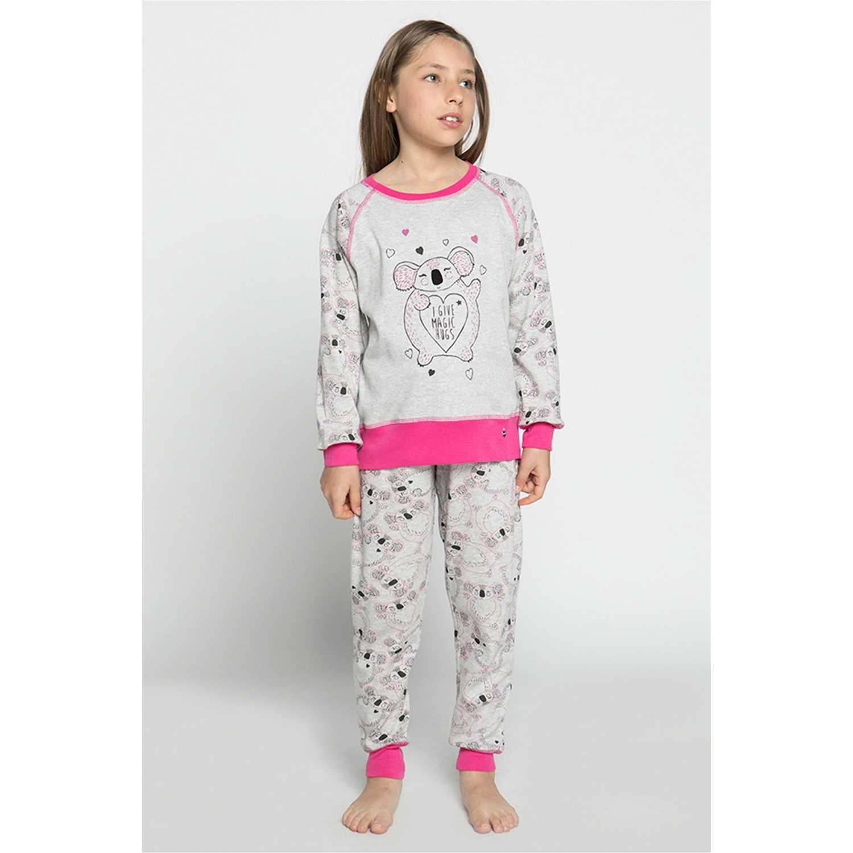 Pijama de Niña Kayser Gris 63.1181