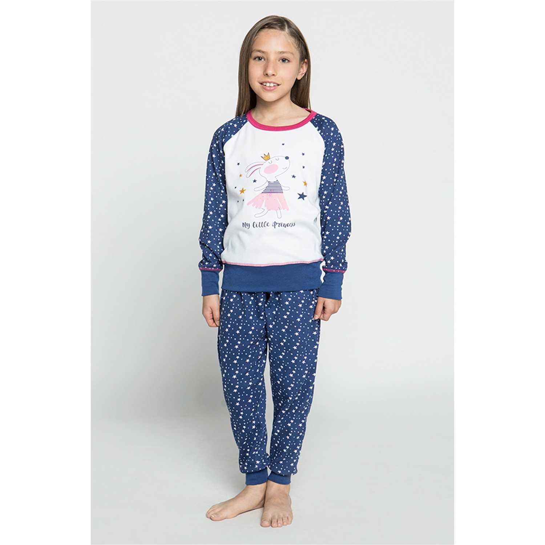 Pijama de Niña Kayser Azul 63.1205