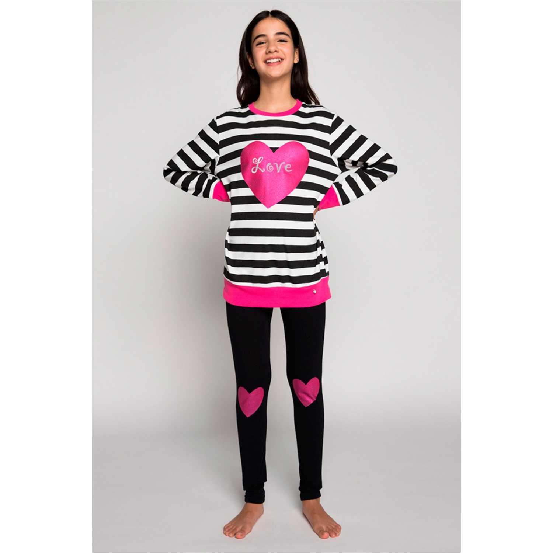 Pijama de Jovencita Kayser Negro 65.1213